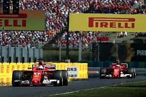 "Vettel admits Raikkonen ""a lot faster"" most of the race"