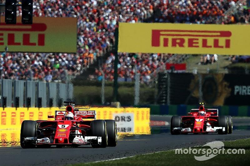 "Vettel admits Raikkonen ""a lot faster"" most of the race"