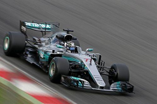 Barcelona F1 test: Bottas keeps Mercedes on top, Raikkonen crashes