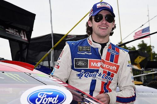 Ryan Blaney leads opening Michigan Cup practice at 203.591mph