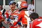 """MotoGP Lorenzo: """"No tengo palabras para definir lo que está haciendo Dovizioso"""""""