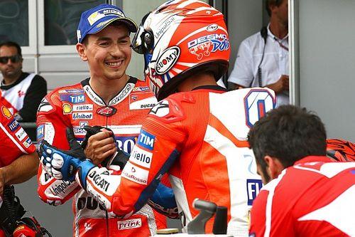 Dianggap beri jalan ke Dovizioso, Lorenzo: Saya tak terlalu menekan
