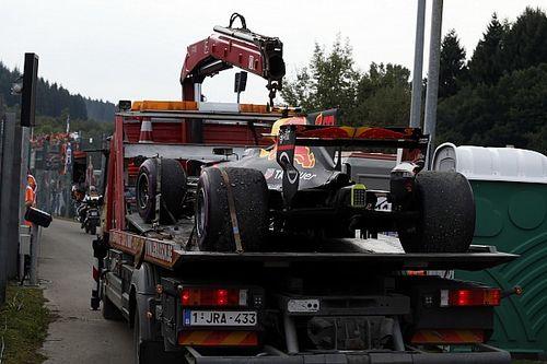 """Verstappen fermato da un sensore: """"Avrei preferito l'esplosione del V6!"""""""