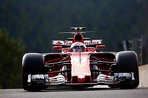 【F1ベルギーGP】FP3詳報:ライコネン首位で跳ね馬1-2。ハミルトン3位