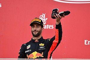 Fase europeia coroa arrancada de Ricciardo na F1 em 2017