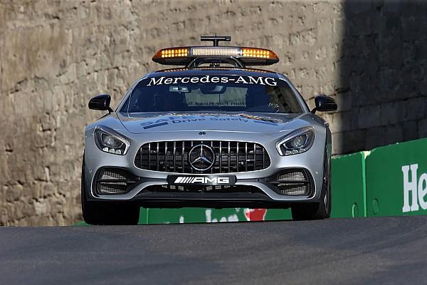 Forma-1 BRÉKING A bakui F1-es káosz vasárnap: képekben mondom el