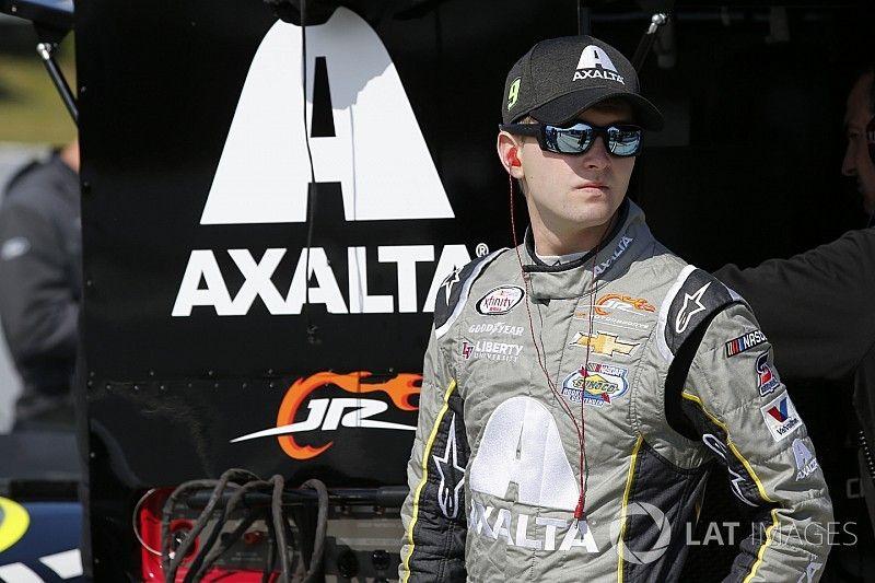 William Byron scores first NASCAR Xfinity win in hectic Iowa race