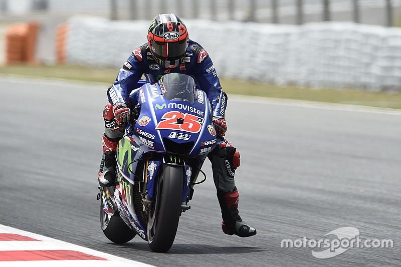 Yamaha cancela el test del miércoles en Aragón y se queda en Montmeló