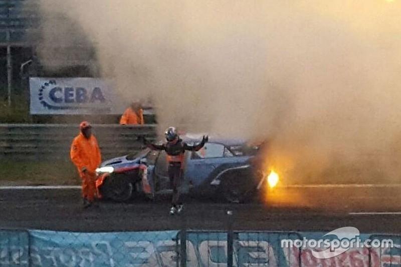 Sordo rompe el motor en la última prueba del Monza Rally Show