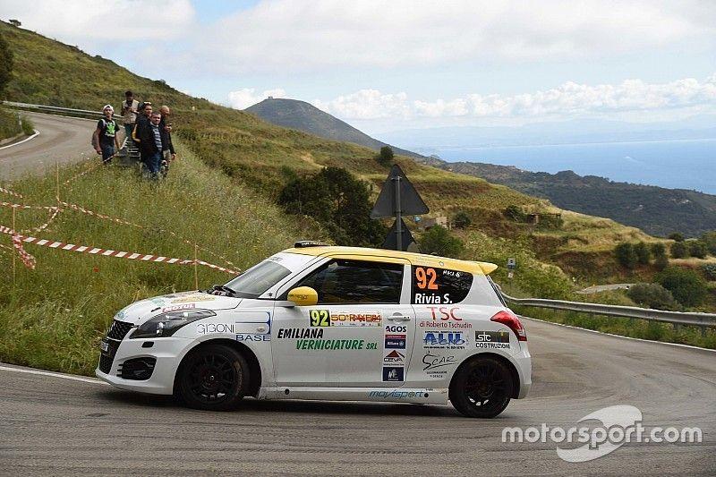 Suzuki Rally Cup: la prima a Simone Rivia all'Elba