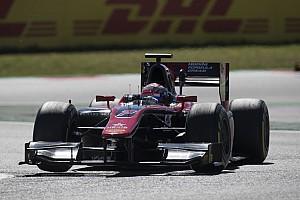 FIA F2 Отчет о гонке Мацушита выиграл спринт в Барселоне, Маркелов провалился с поула