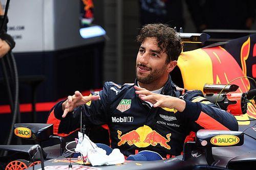 """Ricciardo: """"Male l'assetto a basso carico. Domani lo cambio!"""""""