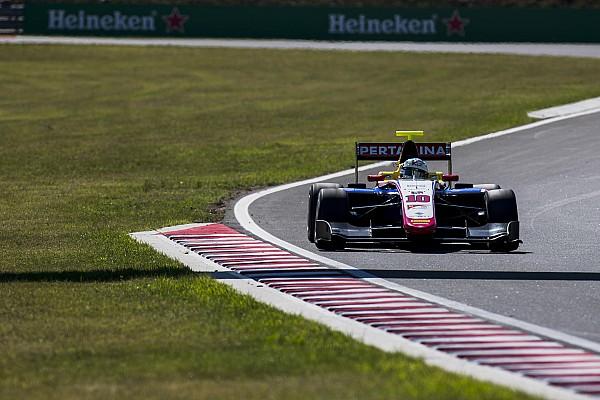 Алези выиграл гонку GP3 в Венгрии