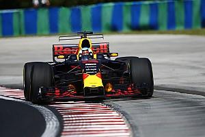 Formel 1 Trainingsbericht Formel 1 2017 in Budapest: Bestzeit für Red Bull Racing im 1. Training