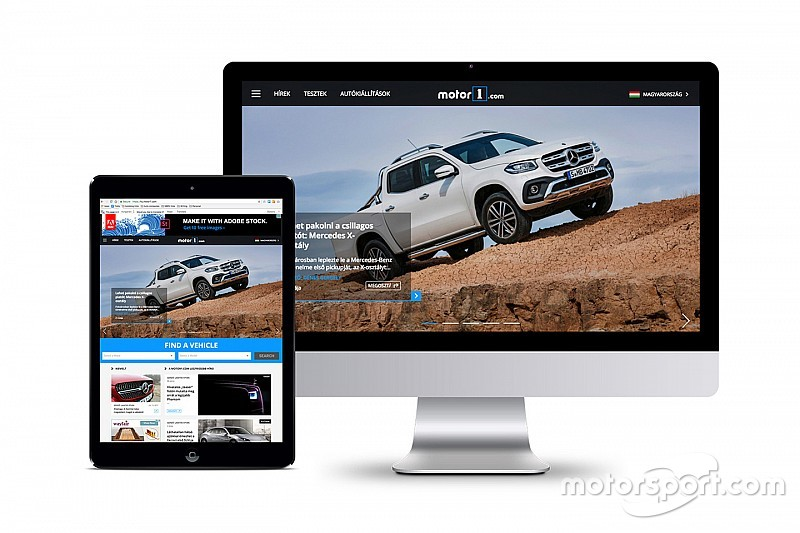 Motor1.com luncurkan edisi Hongaria usai akuisisi