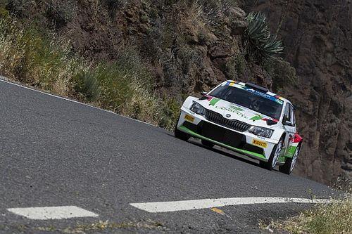 Griebel al Rally di Germania con la ŠKODA Fabia R5 della BRR