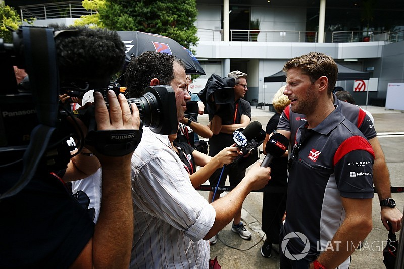 """Grosjean: """"Whiting si è almeno scusato con me per il tombino..."""""""
