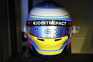 F1 Noticias de última hora Alonso y Sainz homenajean a Gonzalo Basurto en su casco