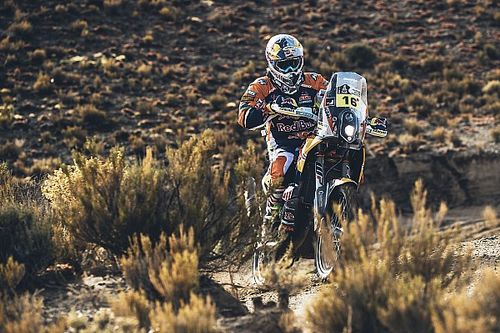 Walkner unhappy with guesswork in Dakar 2017 navigation