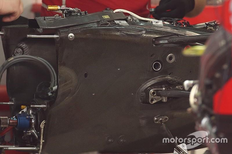 Ferrari: la prima ispezione al cambio di Vettel non ha mostrato danni