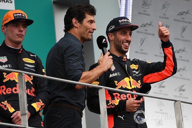 "Webber: ""A Red Bull Ricciardo bajnoki címének is örülne…"""