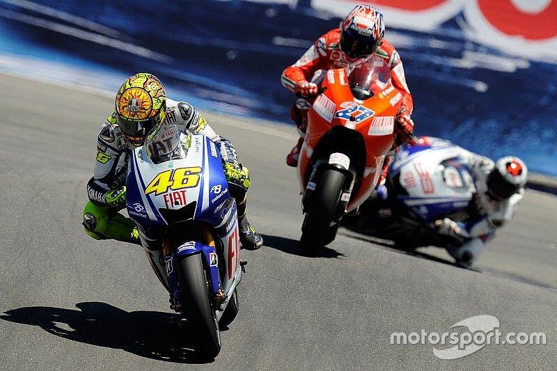 """Rossi: """"Bello lottare con Stoner. E Laguna 2008 è speciale"""""""