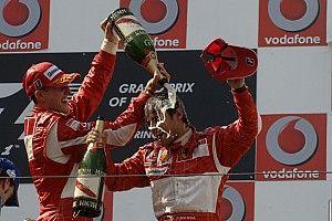 Massa, aki Schumacher és Alonso mellett állhatott fel először a dobogóra