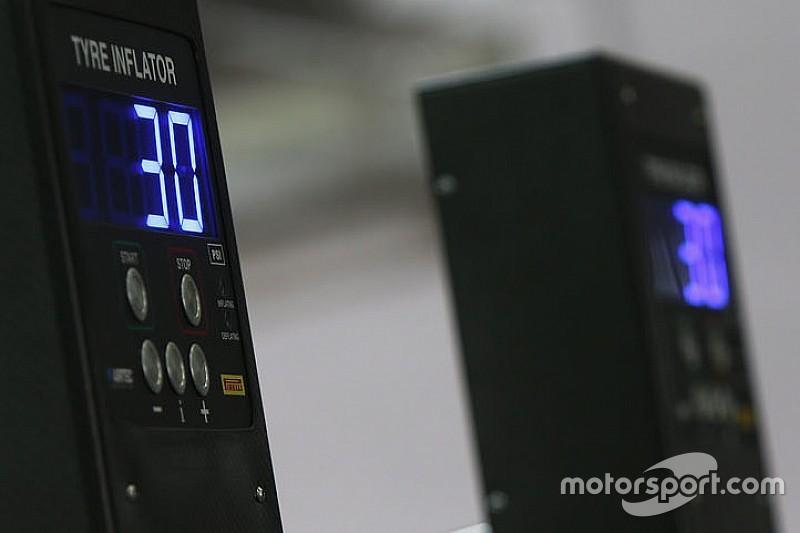 FIA введет единую систему контроля за давлением и температурой шин в 2021 году