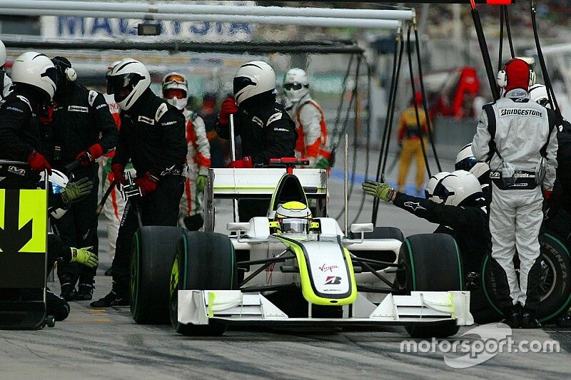 The day Jenson Button won a Grand Prix while standing still