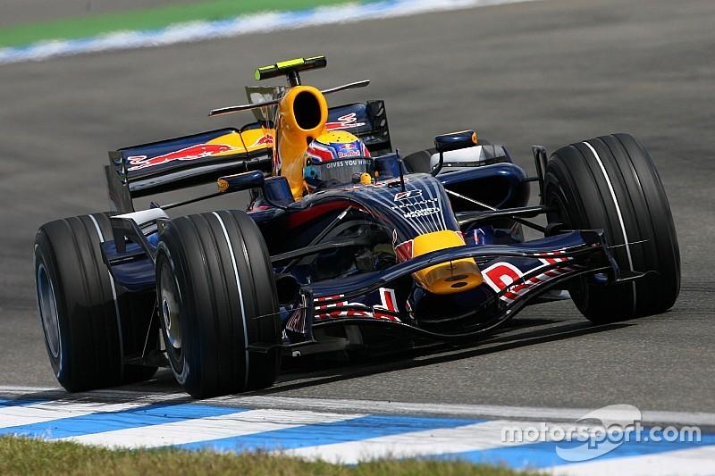 Все машины Red Bull, которые выходили на старт в Формуле 1