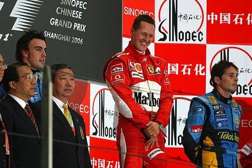 Chine 2006 - 91e et dernière victoire de Michael Schumacher