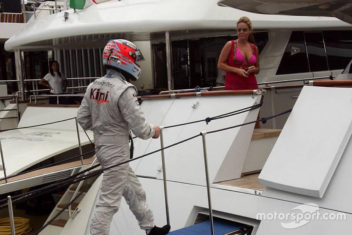 El día en que Raikkonen abandonó en Mónaco y se fue a un yate