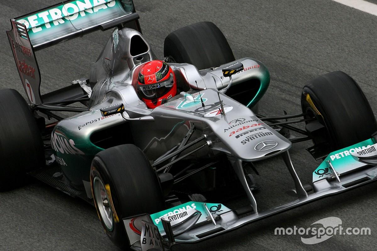¿Por qué Michael Schumacher no llegó a tener éxito en Mercedes?