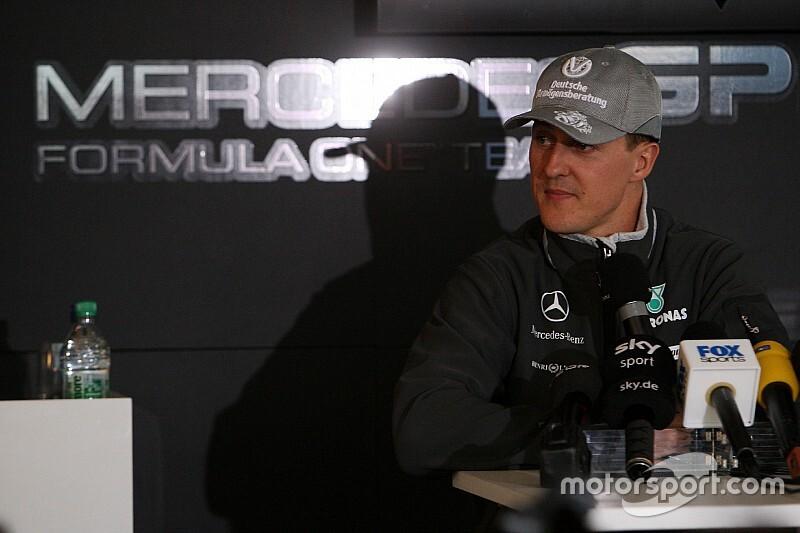 Wolff: Sin Schumacher nuestra historia de éxito no existiría