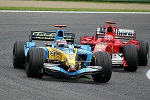 Az F1 egyik legszimbolikusabb előzése: Alonso Schumacher ellen 2005-ből