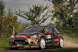 Les 15 Citroën WRC pilotées par Sébastien Loeb