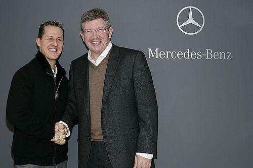Ross Brawn: Warum Schumacher/Button das ideale Duo wäre