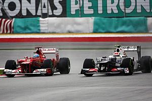 Retro: Hoe Perez zich glorieus in de kijker reed bij Ferrari