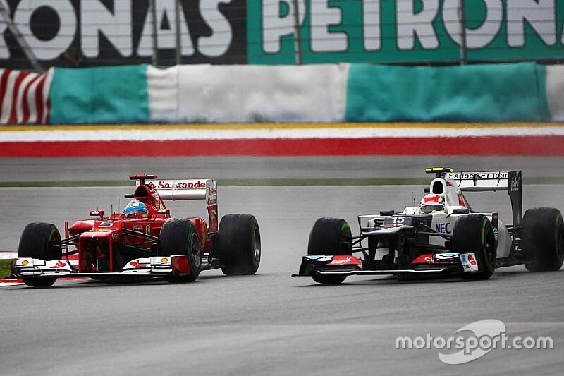 Retro: Hoe Perez imponeerde en een Ferrari-contract liet liggen