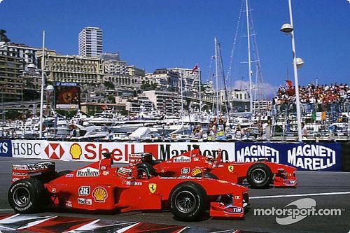 Há 21 anos, Schumacher ganhava o GP de Mônaco e se tornava o piloto mais vitorioso da história da Ferrari, superando Lauda