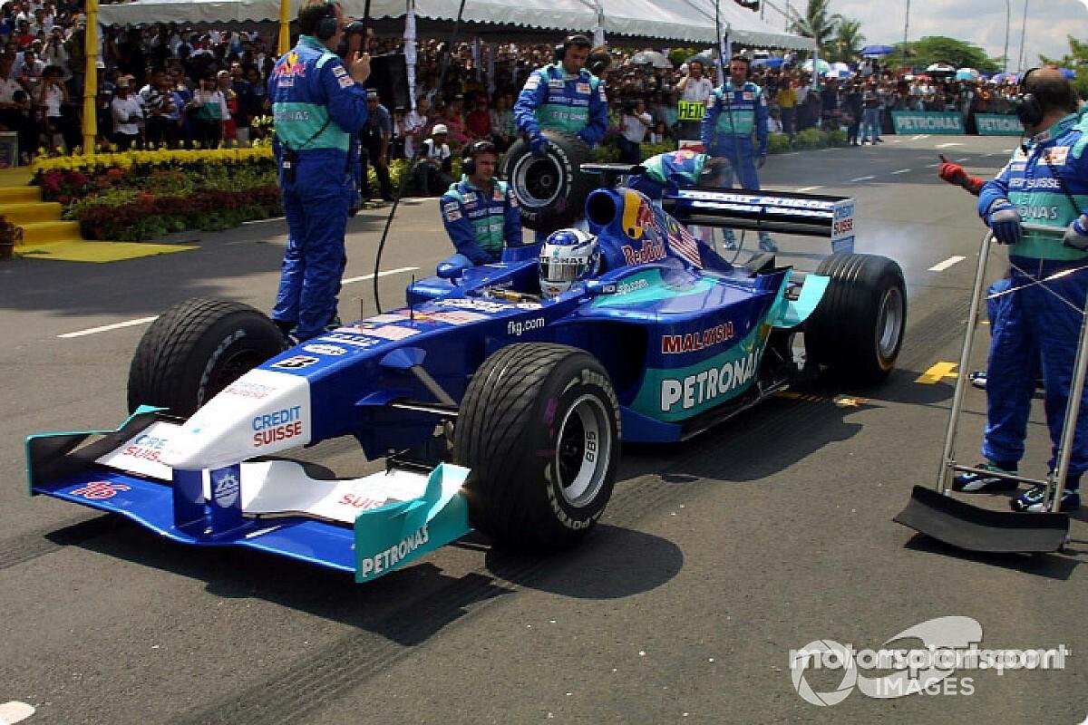 Iceman Raikkonen miste bijna de start van zijn eerste Formule 1-race