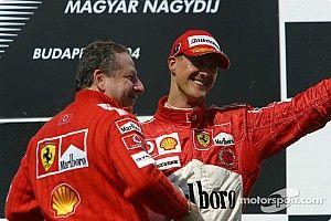 Ecclestone: Schumacher egy igazi vezető volt, Vettel viszont más