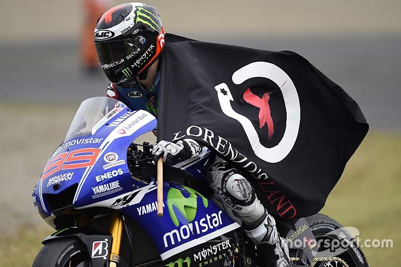 "Lorenzo será nombrado ""Leyenda de MotoGP"""