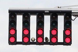 FIA werkt aan oplossing voor slecht zichtbare startlichten