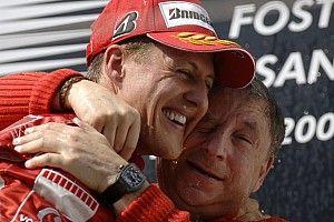 Todt: Brezilya GP'yi Schumacher'le birlikte izledim