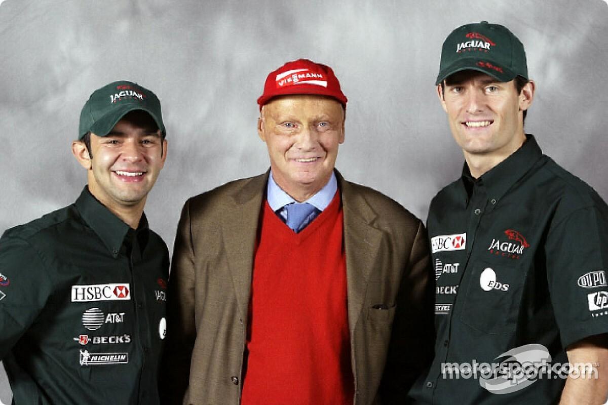 """Pizzonia lamenta pouco tempo com Lauda, mas lembra: """"Sempre me apoiou muito"""""""