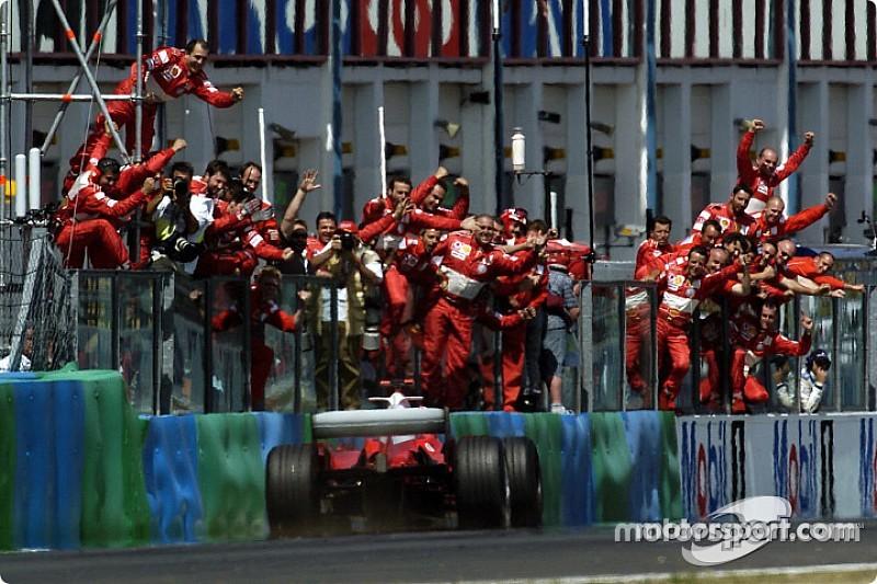 15 évvel ezelőtt nyert Schumacher a Francia Nagydíjon a történelem egyik legjobb F1-es autójával