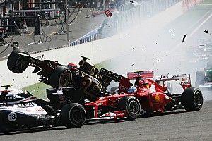 Los pilotos con más abandonos en la primera vuelta