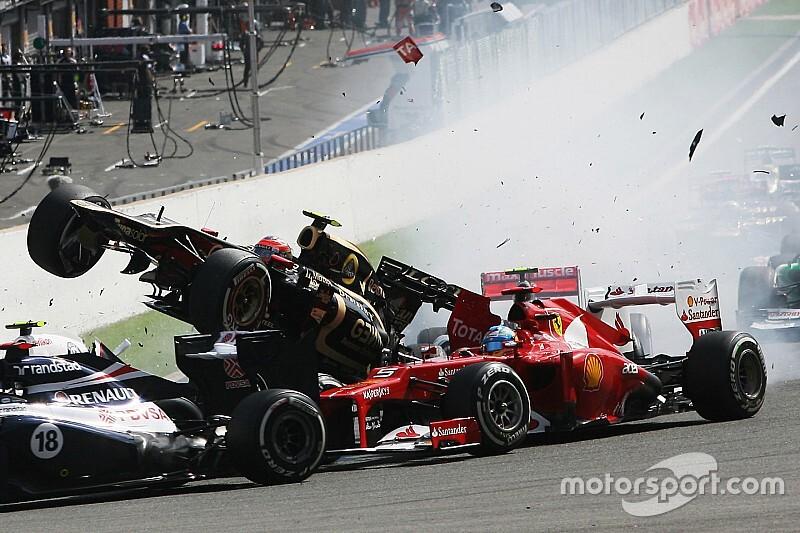 Os pilotos com mais abandonos na primeira volta na história da F1