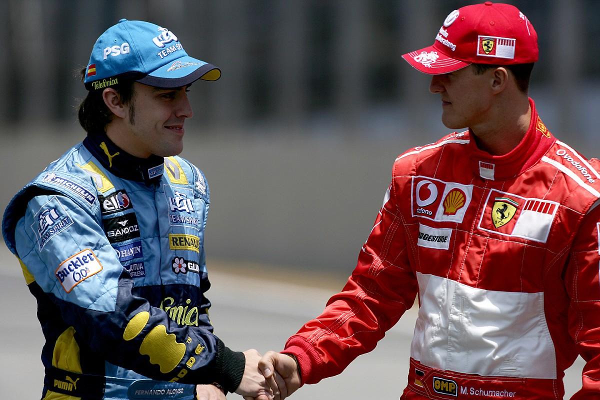"""Alonso: Schumacher """"war an guten Tagen unschlagbar"""""""